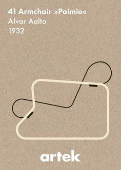 @Kelley Johnson - News & Events - Artek abc Collection - 41 Armchair Paimio by Alvar #Aalto #design