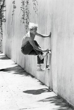 wall ride.