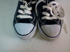 The 5th Brick House On The Right: Thrift Store Shoes - yes or no? And how to clean'm up!