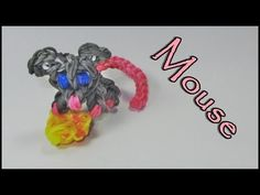 Rainbow Loom Charms: MOUSE: How to Design / Tutorial (DIY Mommy)