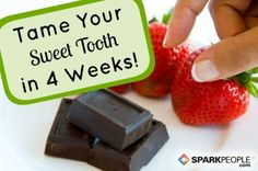 Addicted to sweets and treats? Try this 4-week #sugar detox plan | via @SparkPeople #eatbetter