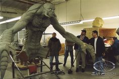 Steve Johnson - Special Effects Character Creator & Master Monster Maker | Stan Winston School of Character Arts