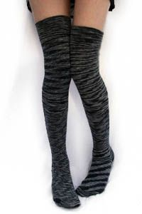 EG Smith Space Dyed OTK Stockings