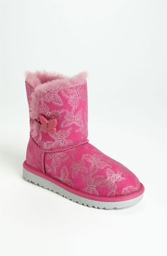 UGG® Australia Bailey Button - Butterfly Boot (Walker, Toddler, Little Kid & Big Kid) available at #Nordstrom