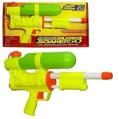Best Toys of the 1990's -   All hail the mighty Super Soaker; this was released during the 1990's. Children of all ages and even adults wanted to have one of these. The Super Soaker completely revolutionized the idea of the water gun.