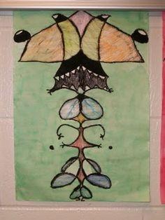 That Little Art Teacher: Name Aliens... Bugs... Whatever!