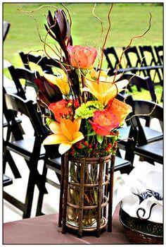 Rustic Autumn fall wedding