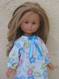 Corolle Les Cheries Doll Nightgown by PachomDollBoutique on Etsy, $8.99