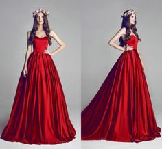 Wholesale cheap cheap evening dresses online, 2014 fall winter - Find best 2014 vintage red ball gown beach bridesmaid dresses sweep train backless custom made high quality fashion bridal party bachelorette gowns at discount prices from Chinese bridesmaid dress supplier on DHgate.com.
