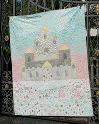 Castle on a Cloud by Gigi Khalsa in Best Fat Quarter Quilts 2014.