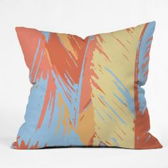 Rosie Brown Art Deco Palms Outdoor Throw Pillow | DENY Designs Home Accessories #art #abstract #palm #throwpillow #pillow #homedecor #denydesigns #deco