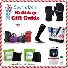Sports Mom Holiday Gift Guide | A Dish of Daily Life #sportsmom #giftguide