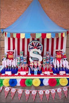 Carnival Party/Circus Party Sweet table capturebylucy.com birthday parti, sweet tabl, dessert tabl, kid dessert, parti idea