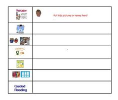 Daily 5 / Promethean Board Flip Chart