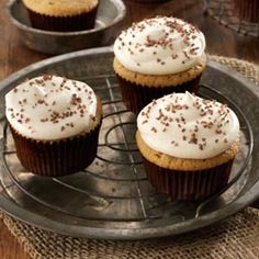 Salted Caramel Cupcakes from Taste of Home