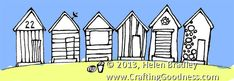 step by step how to draw row houses..