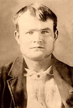Butch Cassidy..1st offense with law..he rode into town to buy a pair of overall, store was closed and he let himself in, left a note saying he promised to pay later. He and 3 others robbed the San Miguel Valley Bank in Telluride. Butch was ruthless only to always get wat he wanted and leave no one in his way..A hard fighting gunslinger..