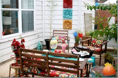 Colorful Patio #fami