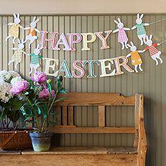 #Easter #Garland #Rabbit