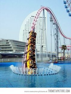 Vanishing rollercoaster, Japan