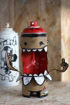 graffiti cans