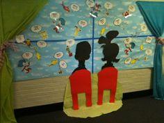 Dr. Seuss bulletin board :)