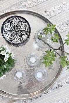 cómo decorar una mesa con detalles