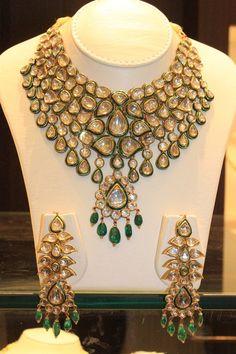 #indian #jewellry #polki #wedding #traditional #beautiful