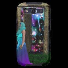 Key to Otherworlds,Fantasy, Goddess, Magic, Pagan Samsung Galaxy S3 Case