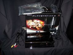 Sony PlayStation 3 80gig blueray player game system for parts only player game, game system