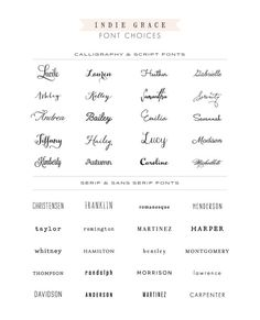Essential Custom Logo Design by Indie Grace by IndieGrace on Etsy