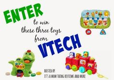 VTech Toy Giveaway-