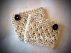 Swirl Boot Cuff Crochet Pattern