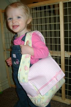 Dolly Diaper Bag SEWING PATTERN pdf instant by SewinSanity on Etsy