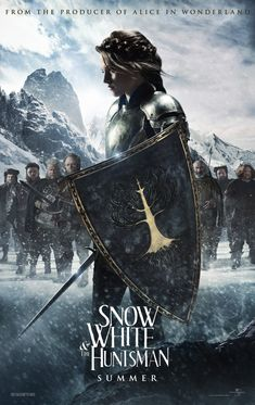 We are really looking forward to Snow White and the Huntsman! This will be the 2nd Snow White movie in less than 3 months. Back in '98 there were a couple of movies about an asteroid threatening Earth, those movies were called Deep Impact and Armageddon. They combined for over 900 million in the world box office. Snow White and the Huntsman looks to big a huge success also when it releases on 6/1/12. Remember to come back for the official Hollywood Apples review of Snow White and the Huntsman!