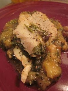 Week 10: Fish Braised in Rhubarb Sauce, second try! by Culinary Adventures with Camilla