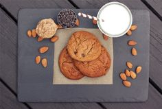 Post image for Restricted Diets: Grain-Free Almond Butter Chocolate Chip Cookies