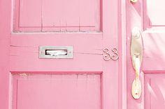 I want a pink front door!