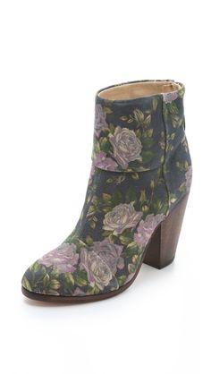 Rag & Bone Floral Newbury Booties