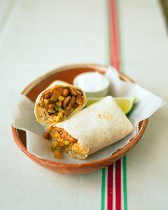 Bean Burritos Recipe | Cooking | How To | Martha Stewart Recipes