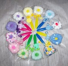 Home :: Party Favors :: wash cloth flowers