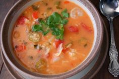 The Healthy Happy Wife: Coconut, Shrimp and Okra Soup (Dairy, Gluten and MSG Free)