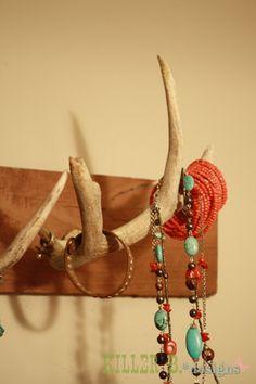 Antler Jewelry Rack...so cool