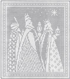 ~ Three Kings ~ Pattern....