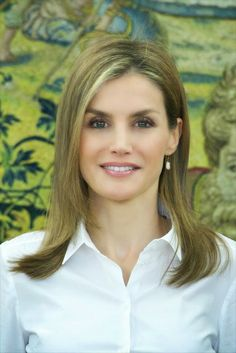 !! REAL- MY ROYALS !! - Queen Letizia attended several audiences at the Zarzuela Palace  in Madrid, Spain.
