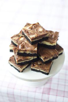 Nutella Cheesecake Bars... | DonalSkehan.com
