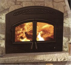 Fireplace Insert Pellet Stove On Pinterest