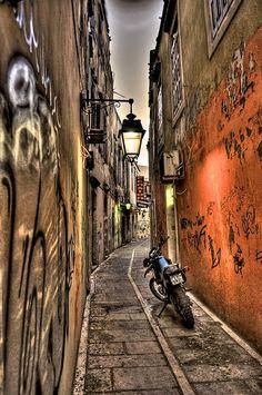 Rethimnon Old City Alley, Greece