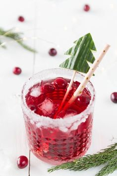 Cranberry Gin Tonic