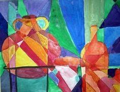 Art Room Blog: Picasso Vase 2nd Grade Lesson Plan (TEXAS TEKS)